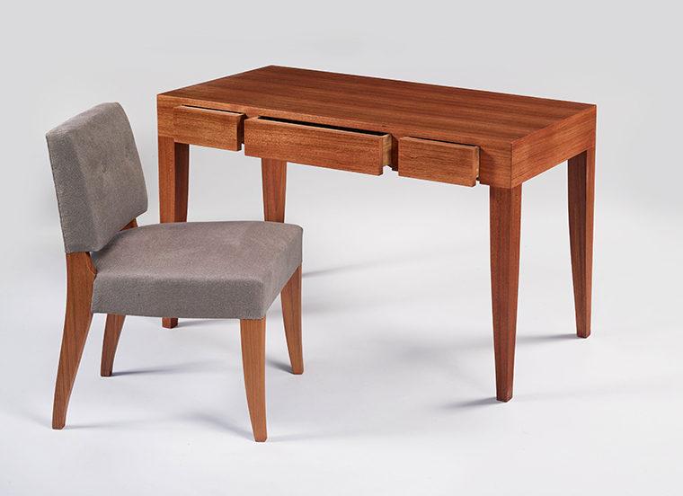 Paul Dupre Lafon Style Desk Teak Vosges Inc