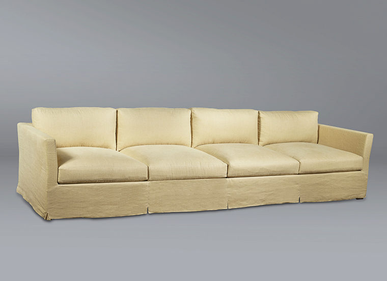 Modern Sofa Linen Removable Cover