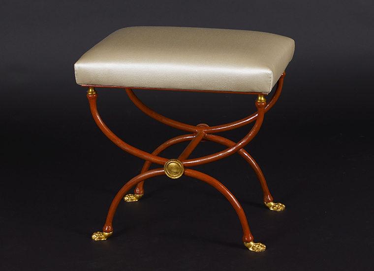 Marvelous Maison Jansen Neoclassical Stool Lion Vosges Inc Beatyapartments Chair Design Images Beatyapartmentscom